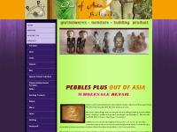 pebblesplus.com peble plus, balinese furniture, balinese stone