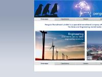 penguinrecruitment.co.uk Homepage, Candidates, Clients