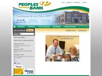 peoplesbank-in.com atm check card, boonville bank, boonville indiana