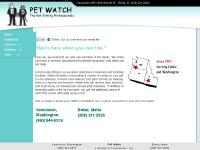 Pet Watch - Quality In-Home Care for Your Pet