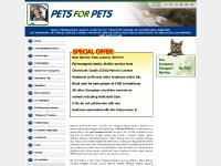 PETS for PETS - Pan European Transportation Service for PETS - Home