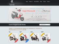 50cc, 110cc, 125cc, and 400cc Scooters from Peugeot Scooters UK