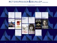 UK literary agency - Peters Fraser & Dunlop
