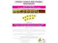 Phonic Songs : Teaching phonics through songs by phonicstar.com