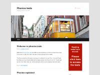 Phonics tests | Testing phonics in the UK