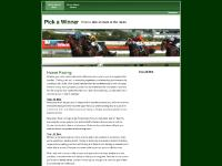 pick-a-winner.co.uk pick a winner, horse racing winners, race tips