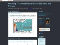 Microchip PIC Microcontroller Resources News and Projects