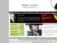 Pierre Levicky Books Edinburgh Restaurant Consultant Scotland