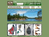 BWCA Boundary Waters Canoe Area Outfitting, Ely Minnesota, Piragis Northwoods Company and the Boundary Waters Catalog Kevlar Canoes