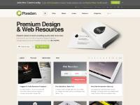 Premium and Free Design and Web Resources - Pixeden