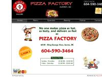 Pizza Factory, Surrey, BC - 25 years in business