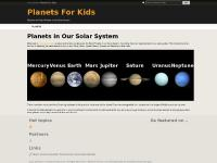 Planets for Kids | Discover the Planets of the Solar System » PlanetsForKids.co.uk