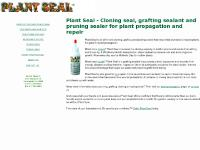 Plant Seal - Cloning seal, grafting sealant and pruning sealer for plant propagation and repair
