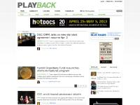 playbackonline.ca production, broadcasting, interactive media