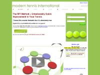 playmoderntennis.com Tennis, Tennis Serve, How to play tennis