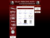 Play Piercing Kits, For your body art and medical play needs