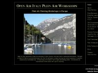 pleinairpaintingeurope.com Open Air Workshops Susan Truitt, Susan Truitt, Open Air Workshops