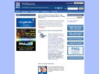pmai.org Press/Media, PMA Divisions, PMA Academy
