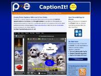 pmesoftware.com captionit, add captions to pictures, speech bubble