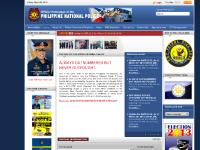 pnp.gov.ph Accessibility, Greetings from Chief PNP, PNP Key Officers