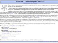 pocnet.net Navigationshilfe, Kuschel-Ecke, Hobby-Ecke