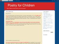 Poetry for Children