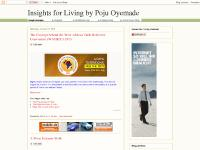 Insights for Living by Poju Oyemade