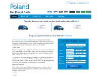 Poland car hire, Poland car rental from 91 PLN Per day all inclusive