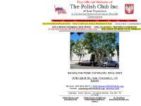polishclubsf.org Directors, Calendar of Events, Rentals