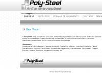 polysteel.com.br Placa de Inauguração Placa de Homenagem Placa de Identificação Letra Caixa Adesivo recorte Adesivos Adesivo digital Comunicação Visual