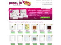 Personalised Wedding Stationery and Wedding Invitations from Poppy Jo