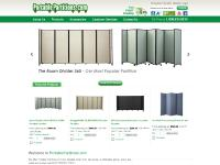 PortablePartitions.com: Portable Partitions, Room Dividers, Portable Walls,  Privacy Screen And