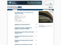 portalidc.com Registe-se, Questionários, Apresentações