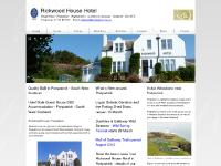 Rickwood House Hotel in Portpatrick - hotel accommodation in the harbour town of Portpatrick, Stranraer, Scotland