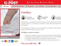 Australia Post : POSTbillpay - Home Page