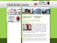 Powder Springs Locksmith | Powder Springs Locksmith Locksmiths | Locksmiths in Powder Springs Locksmith Georgia | 770-872-0765