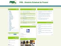 prb10pr.org.br PRB - Diretório Estadual do Paraná, Início, Partido