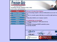 Precision Data Systems - Providing Storage Solutions since 1991