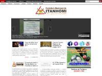 Prefeitura Municipal de Itanhomi | Com a Força do Nosso Trabalho | Itanhomi - MG
