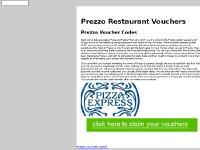 Prezzo Restaurant Vouchers