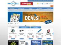 princessauto.com Order by Item #, Order Status, Français