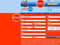 print24.com Ratings, Brochures (staple-bound), Business Cards