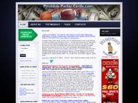 printableparlaycards.com Season passes, Weekly passes, Free NFL Parlay Cards