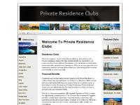 privateresidenceclub - PRIVATE RESIDENCE CLUBS