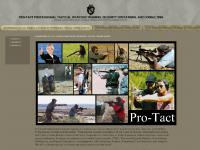 PRO-TACT Professional Tactical Weapons Training, Security Operations, and Consulting - Professional Tactical Training Conducted by Professional Tactical Training Experts