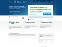 Software for healthcare record exchange from Proficient, LLC.