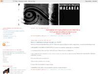 Projeto Macabéa - Blog Administrativo