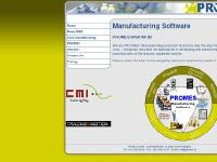 PROMES Manufacturing software