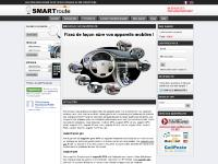 SMARTroute Support et fixation GPS, support pda et support gps moto | Smartroute.fr