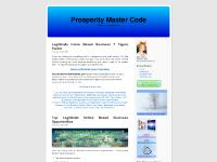 prosperitymastercode.com Instant and Residual Income Opportunity, Internet Superstore, Check it out
